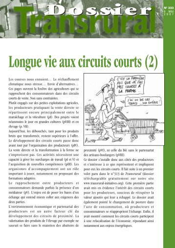 Longue vie aux circuits courts (2) - CIVAM Bretagne
