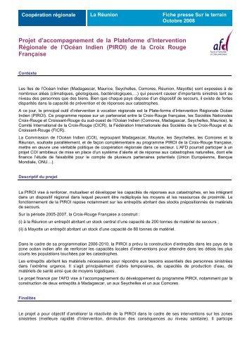 fiche PIROI - Agence Française de Développement