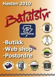 -Butikk -Web shop -Postordre - Seatronic