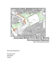 Associated British Ports (Barrow Marina) Environmental ... - IEMA