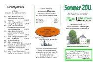 Tellergerichte im Sommer - Gasthaus Wollenweber