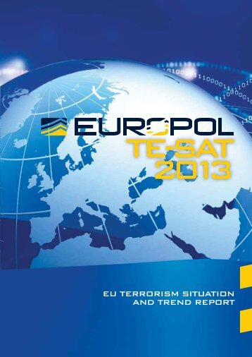 Europol EU Terrorism Situation and Trend Report 2013 - Frank-CS.org
