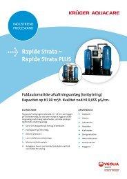Rapide Strata – Rapide Strata PLUS - Krüger A/S