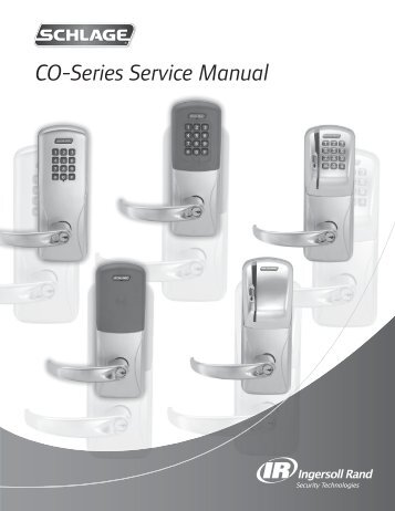 CO-Series Service Manual - Security Technologies