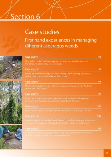 First Hand Experiences in Managing Different ... - Weeds Australia
