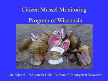 Citizen Mussel Monitoring Program of Wisconsin