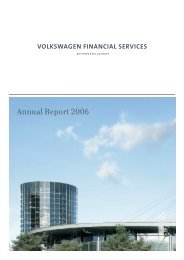 Annual Report 2006 - Volkswagen Financial Services AG
