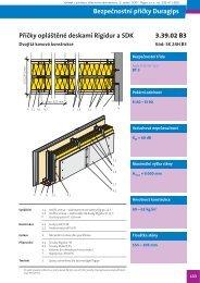 Bezpečnostní příčky Duragips - Výrobek - technologie roku