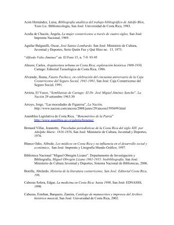 lista de referencias bibliográficas - Sinabi