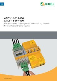 ATICS®-2-63A-ISO ATICS®-2-80A-ISO - Bender Benelux BV