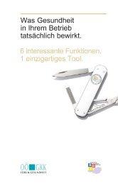 Leistungen des BGF_6 Fuktionen 1 Tool - Wirtschaftskammer ...