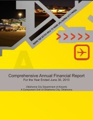 Comprehensive Annual Financial Report - Will Rogers World Airport ...