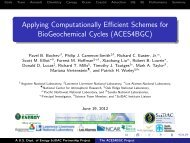 ACES4BGC - CESM | Community Earth System Model