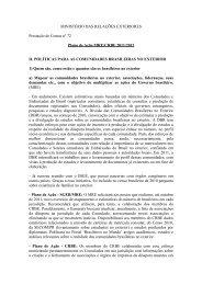 Prestação de contas nº 72 - Brasileiros no Mundo - Ministério das ...