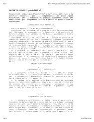 DECRETO-LEGGE 31 gennaio 2005, n.7