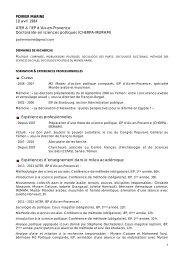POIRIER Marine - Sciences Po Aix