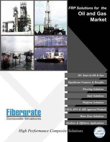 Oil and Gas Market Overview - Fibergrate Composite Structures Inc.