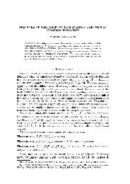 THE ROLE OF THE AHLFORS FIVE ISLANDS THEOREM IN ...