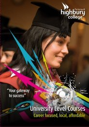 University Level Courses - Study in the UK