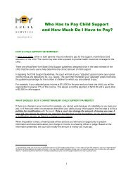 Who Has to Pay Child Support and How Much Do I Have to Pay?