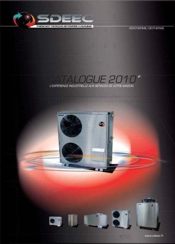 catalogue produits - Sdeec