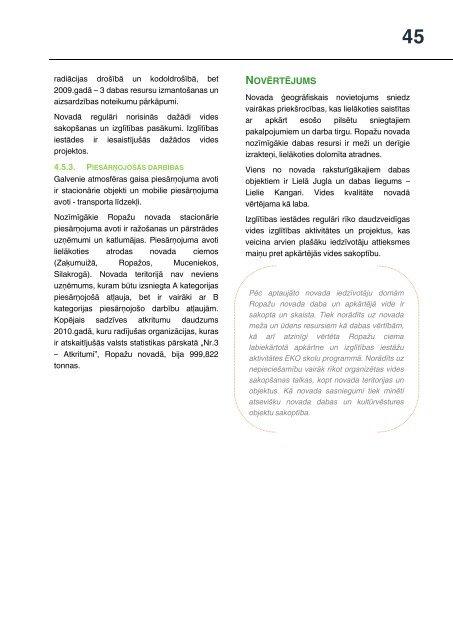 Ropažu novada Attīstības programma 2013. - 2019. gadam - Ropaži.lv