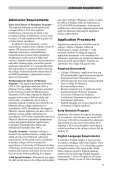 Introduction, Programs of Study, Admissions Requirements, Costs ... - Page 5