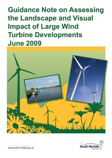 Guidance Note on Assessing the Landscape and Visual Impact of ...