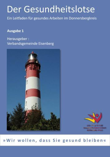 Der Gesundheitslotse - Verbandsgemeinde Eisenberg, Pfalz