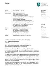 Referat Grønt Råd 25. februar 2008 - Favrskov Kommune