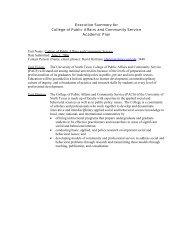 Adobe pdf - College of Public Affairs & Community Service