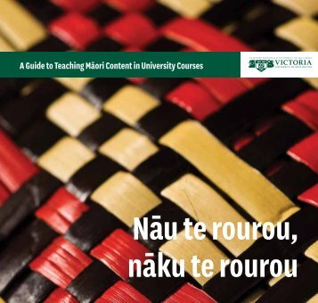 A Guide to Teaching Māori Content in University Courses