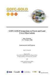Symposium Announcement - GOFC-GOLD LC-IT Office
