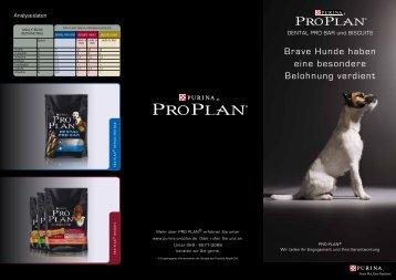 Brave Hunde haben eine besondere Belohnung ... - Purina Proplan