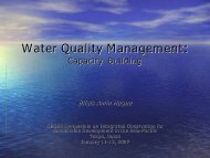 Water Quality Management: