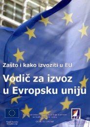 vodič za izvoz u europsku uniju - REZ