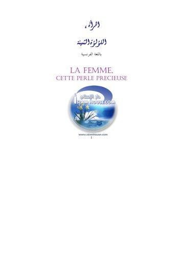La femme cette perle.pdf - Way to Allah