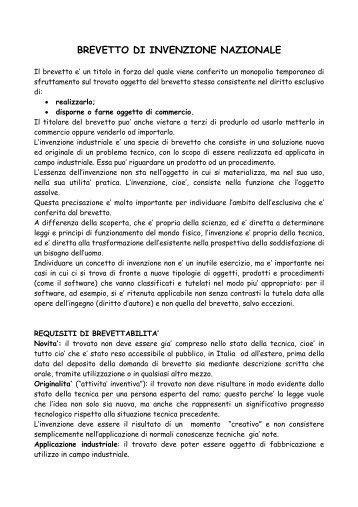 guida invenzione 2009.pdf - Camera di Commercio di Parma