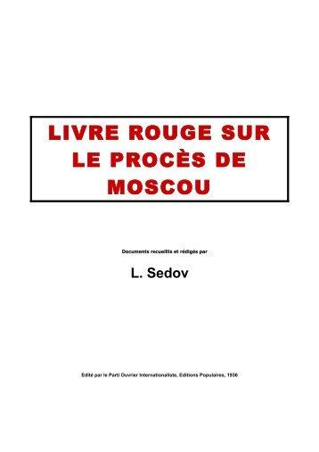 livre rouge sur le procès de moscou - Marxists Internet Archive