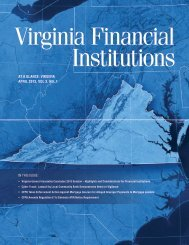Virginia Financial Institutions (April 2013) - Reed Smith
