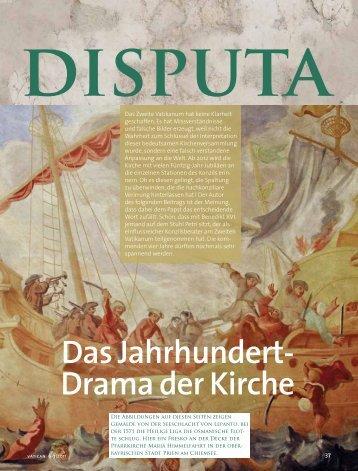 lesen - Vatican magazin ::: Schönheit und Drama der Weltkirche
