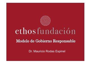 MODELO DE GOBIERNO RESPONSABLE