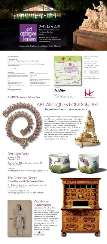ART ANTIQUES LONDON 2011 - Haughton International Fairs