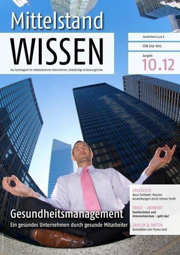 checkliste: aus Betroffenen Beteiligte machen - Unternehmer.de