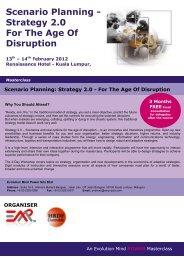 Scenario Planning 2012 k - EMP Asia