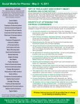Social Media for Pharma - May 2 - 4, 2011 - Advanced Learning ... - Page 2