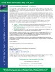 Social Media for Pharma - May 2 - 4, 2011 - Advanced Learning ... - Page 3