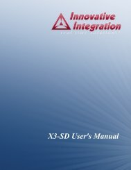 X3-SD User's Manual