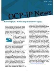 Volume 9 Issue 2 - OCP-IP