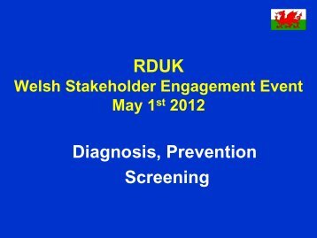 You can download the presentation here - Rare Disease UK